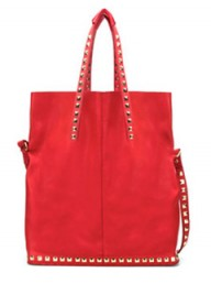 Zara soft shopper with tacks