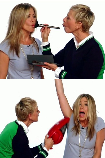 Jennifer Aniston and Ellen DeGeneres - Marie Claire - Marie Claire UK