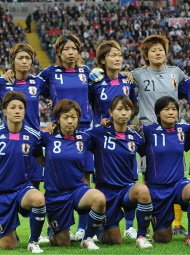 Japanese women football team