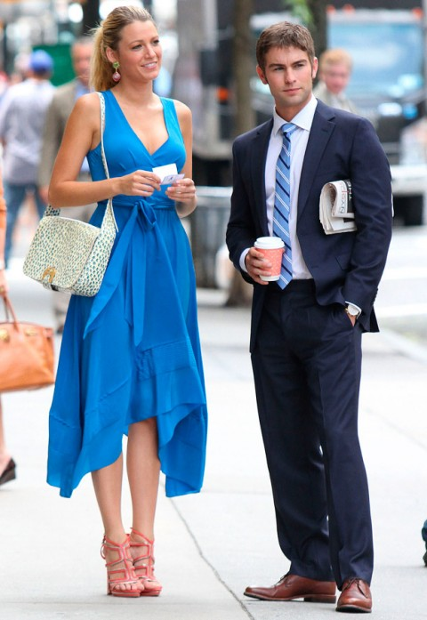 Blake Lively and Chace Crawford - Gossip Girl Season 6 - Marie Claire - Marie Claire UK