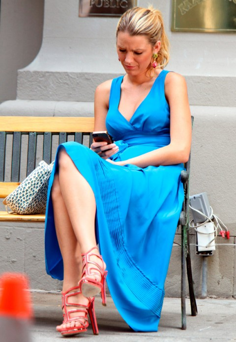 Blake Lively - Gossip Girl Season 6 - Marie Claire - Marie Claire UK
