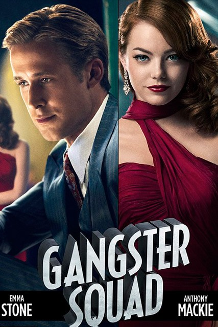 Ryan Gosling and Emma Stone - Gangster Squad - Marie Claire - Marie Claire UK