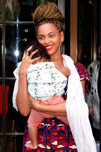 Beyonce and Blue Ivy's New York shopping spree