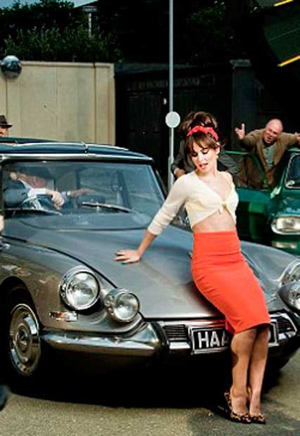 Cheryl Cole's Sixties retro makeover in Under The Sun