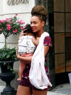Beyonce and Blue Ivy Garticle