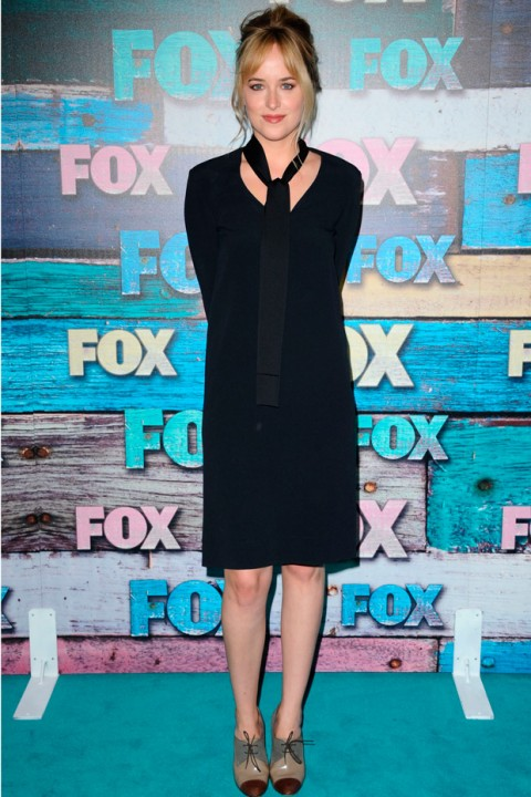Dakota Johnson attends the Fox Summer All Star Party