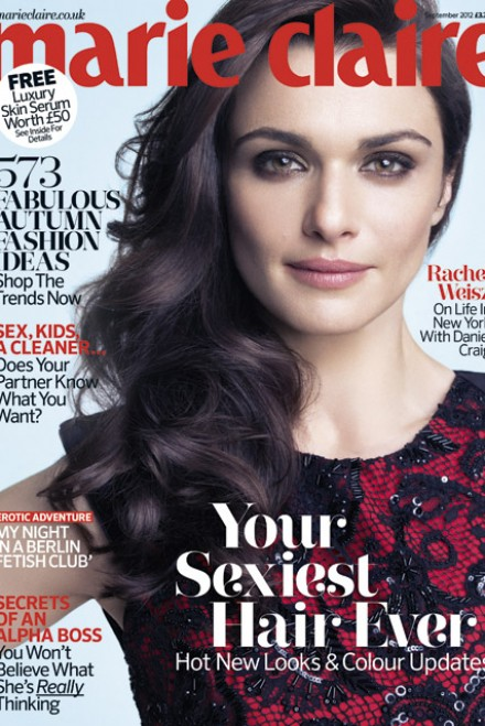 Rachel Weisz for Marie Claire - Marie Claire September issue