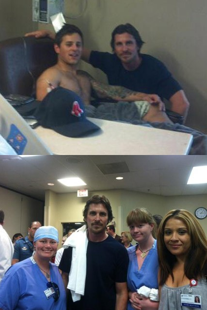Christian Bale - Dark Knight Rises - Colorado shooting - Marie Claire - Marie Claire UK