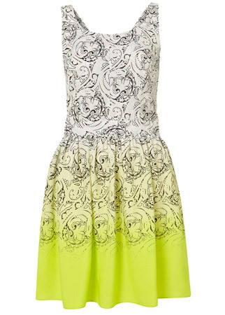 Topshop paisley print shift dress, £46