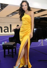 london olympic games 2012, olympics, myleene klass, heathrow terminal 5, marie claire uk, classical music, celebrity news