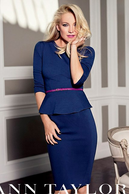 Kate Hudson for Ann Taylor autumn/winter 2012 ad campaign