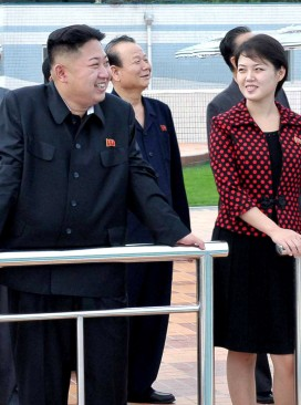Kim Jong Un with Wife
