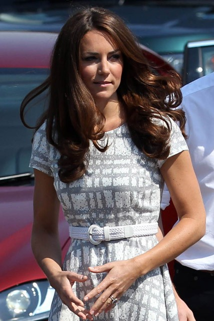 Kate Middleton wears 35 Hobbs dress for Olympic visit