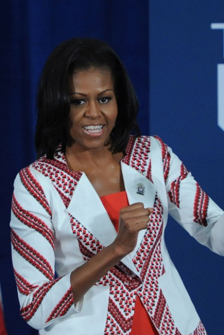 Michelle Obama - Olympics 2012 - London 2012 - Marie Claire - Marie Claire UK