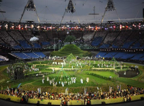 The London 2012 Olympics Opening Ceremony
