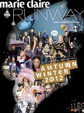Marie Claire Runway magazine A/W'12 on sale now!