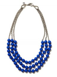 Banana Republic Triple-strand bead necklace