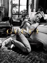 Charlotte Casiraghi in Gucci Forever Now ad campaign