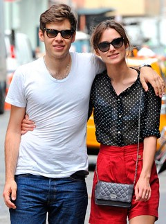 Keira Knightley and James Righton out and about in New York