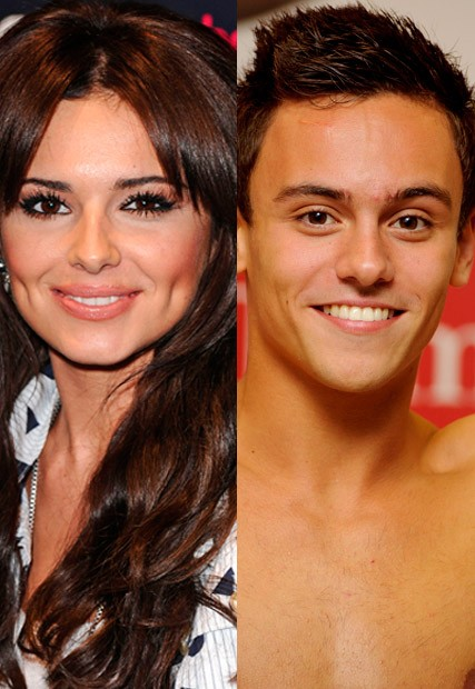 Cheryl Cole tweets Tom Daley