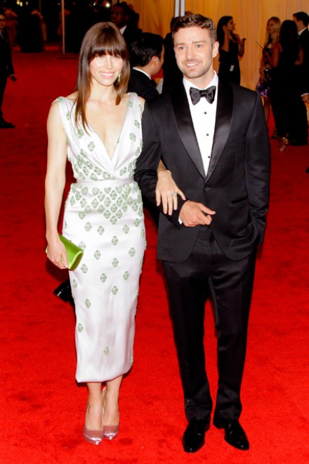 Justin Timberlake gives fiance Jessica Biel style advice