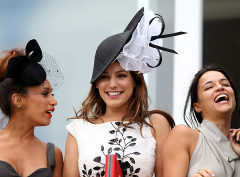 Ladies Day at Glorious Goodwood 2012