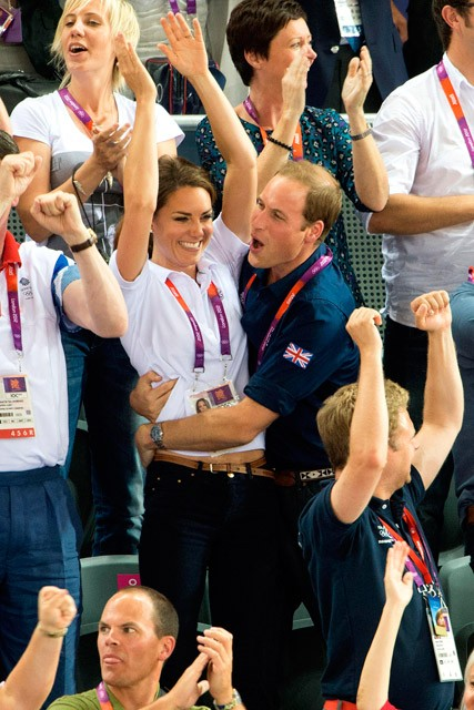 Kate Middleton and Prince William - Duke and Duchess of Cambridge - 2012 Olympics - Marie Claire - Marie Claire UK