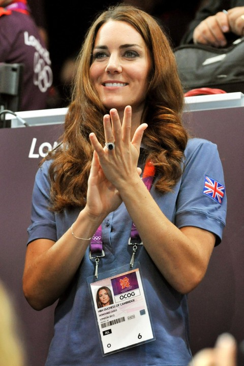 Kate Middleton at the London 2012 Olympics 