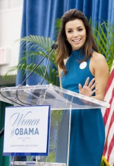 eva longoria, barack obama, celebrities in politics, marie claire, marie claire uk
