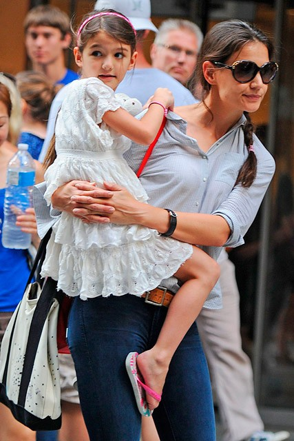 Katie Holmes and Suri Cruise are reunited in New York