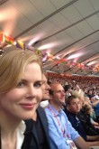 Nicole Kidman at the London 2012 Olympics