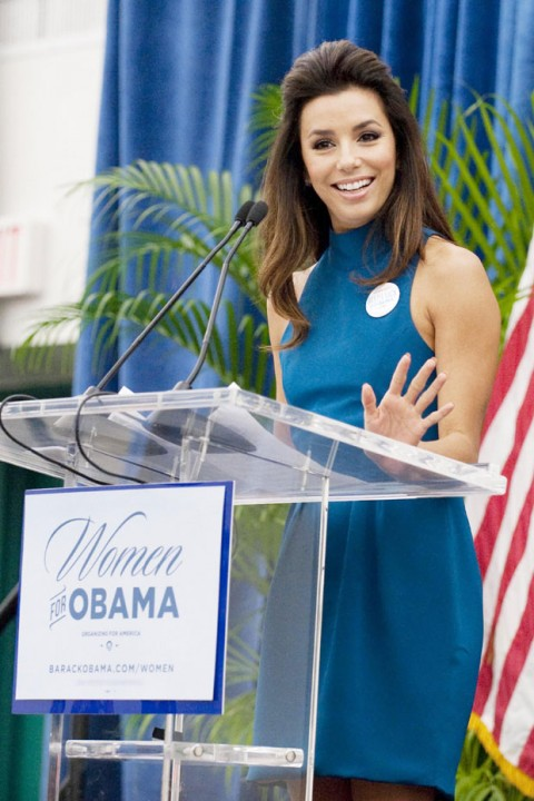 Stars who support Obama for US President 2012
