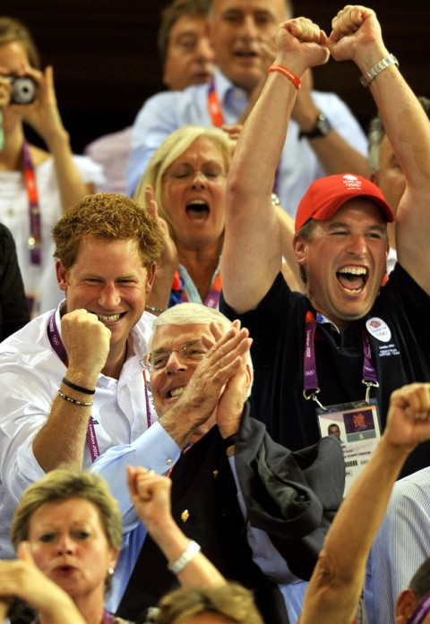 Prince Harry - London 2012 Olympics - Marie Claire - Marie Claire UK
