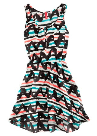 H&amp;M printed dress, &pound;12.99