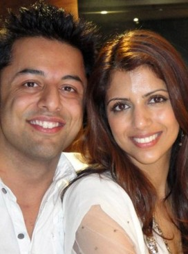 Anni Dewani murder victim with husband