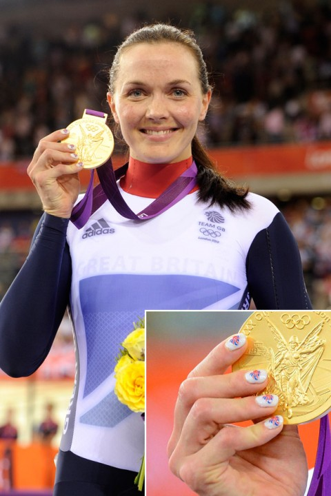 Victoria Pendleton at the London 2102 Olympic Games