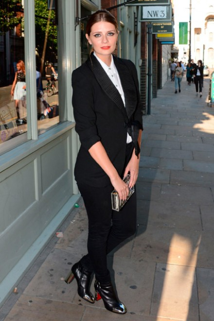 Mischa Barton at the launch of her Mischa Barton boutique in London