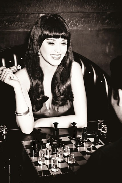 Katy Perry in new ghd advertising campaign