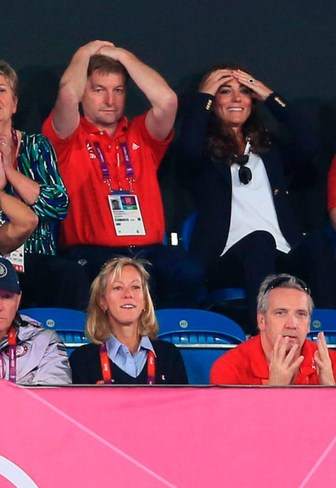 Kate Middleton - London 2012 Olympics - Hockey - Marie Claire - Marie Claire UK