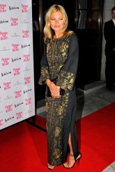 Kate Moss at the Fashion for Relief 2012 dinner in London
