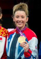 Jade Jones - olympic gold medal for taekwondo