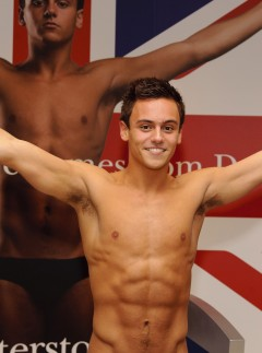 Tom Daley book signing