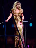 Kate Moss at the London 2012 Olympics Closing Ceremony