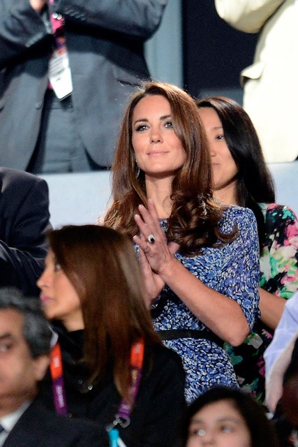 Kate Middleton wearing Whistles at the London 2012 Olympics Closing Ceremony