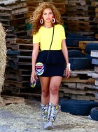 Beyonce wears Topshop in her Tumblr pictures