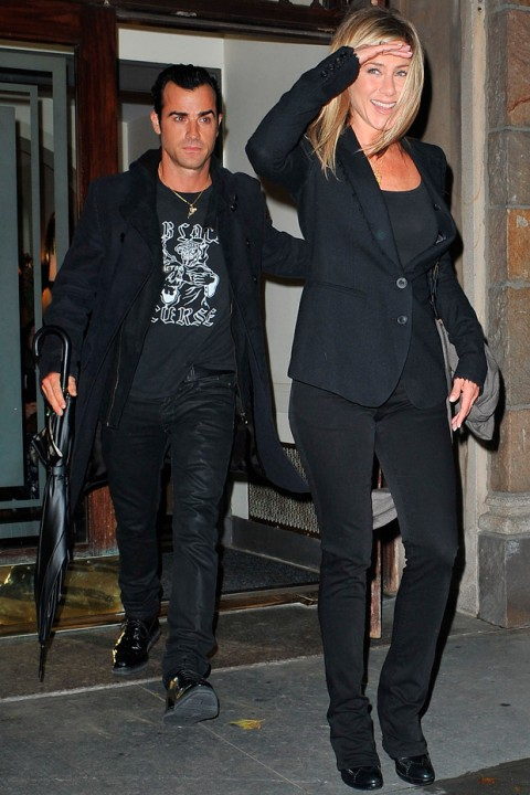 Jennifer Aniston and Justin Theroux: Relationship in pics