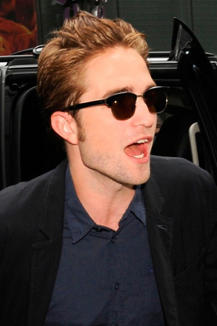 Robert Pattinson in New York