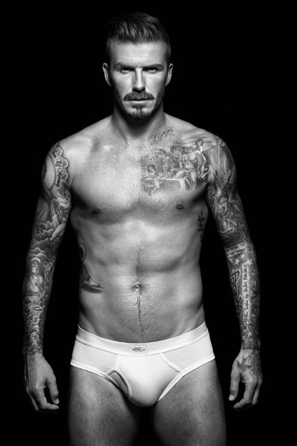 David Beckham strips down for new Bodywear at H&M collection