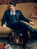 Louis Vuitton Core Values advertising campaign featuring Michael Phelps and Larisa Latynina