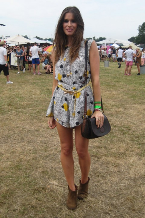 Street Style at Virgin Media V Festival